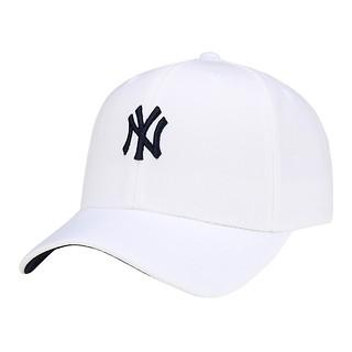#WHITE/홈런 캐릭터 스몰로고 커브캡 뉴욕 양키스