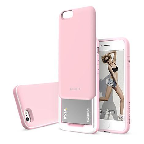 [DESIGN SKIN] 아이폰6S/6 슬라이더 베이비핑크
