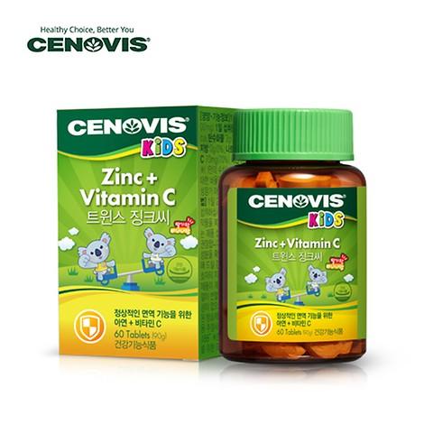 트윈스 징크씨(어린이용 아연과 비타민C 면역기능 증진)