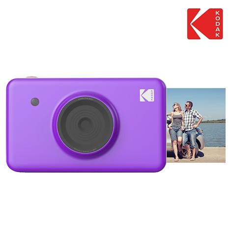 Kodak 휴대용 포토프린터 미니샷 Purple (즉석카메라 기능 내장)